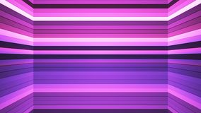 Broadcast Twinkling Horizontal Hi-Tech Bars Shaft, Pink, Abstract, Loopable, 4K. Thank you for choosing this Background stock footage