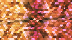Broadcast Twinkling Polygon Hi-Tech Triangles, Brown, Abstract, Loopable, 4K. Thank you for choosing this Background stock video