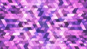 Broadcast Twinkling Polygon Hi-Tech Triangles, Purple, Abstract, Loopable, 4K. Thank you for choosing this Background stock footage