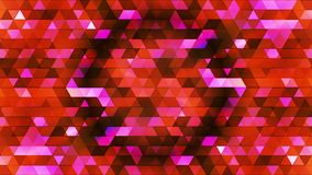 Broadcast Twinkling Polygon Hi-Tech Triangles 02 stock footage