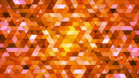 Broadcast Twinkling Polygon Hi-Tech Triangles 04 stock footage