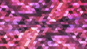 Broadcast Twinkling Polygon Hi-Tech Triangles 08 stock footage