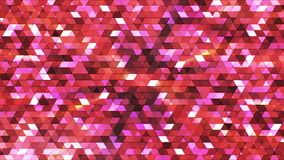 Broadcast Twinkling Polygon Hi-Tech Triangles 20 stock footage