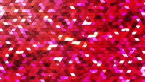 Broadcast Twinkling Polygon Hi-Tech Triangles 22 stock footage