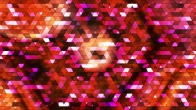 Broadcast Twinkling Polygon Hi-Tech Triangles 24 stock footage