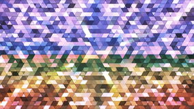 Broadcast Twinkling Polygon Hi-Tech Triangles 23 stock footage