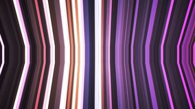 Broadcast Twinkling Vertical Bent Hi-Tech Strips, Purple, Abstract, Loopable, 4K. Thank you for choosing this Background stock video footage