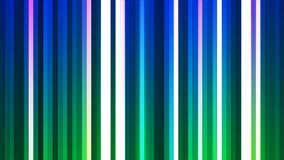 Broadcast Twinkling Vertical Hi-Tech Bars, Multi Color, Abstract, Loopable, 4K