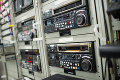 Broadcast vcr recorder Royalty Free Stock Images