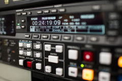 Broadcast vcr recorder Royalty Free Stock Photo