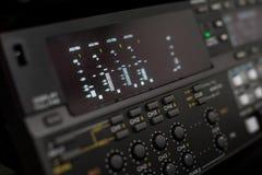 Broadcast vcr recorder. A high tech broadcast digi beta recorder Stock Photo