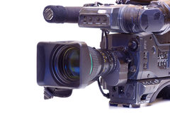 Broadcast video camera Stock Photography