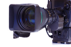 Broadcast video camera Royalty Free Stock Photo