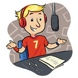Broadcaster Stock Photography