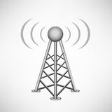 Broadcasting antenna Royalty Free Stock Photo