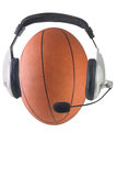 Broadcasting basketball Royalty Free Stock Photo