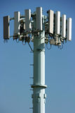 Broadcasting communication tower Stock Photo
