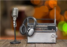 Broadcasting Royalty Free Stock Image
