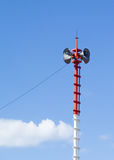 Broadcasting tower Royalty Free Stock Photography