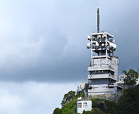 Broadcasting tower Royalty Free Stock Photo