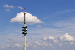 Broadcasting Tower Stock Image