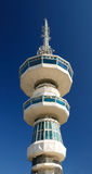 Broadcasting tower in thessaloniki (O.T.E. Tower) Royalty Free Stock Photography