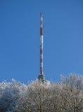 Broadcasting transmitter Stock Image