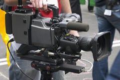 broadcastkamerakvalitet Royaltyfri Bild