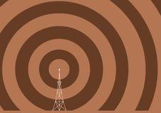 broadcasttorn stock illustrationer