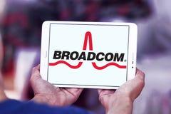 Broadcom  company logo Royalty Free Stock Images