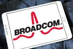 Broadcom  company logo Royalty Free Stock Photography