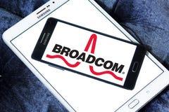 Broadcom-Firmenlogo Stockfoto