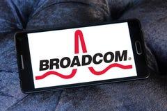 Broadcom-Firmenlogo Lizenzfreies Stockfoto