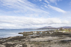 Broadford harbour on the Isle of Skye. Royalty Free Stock Photography