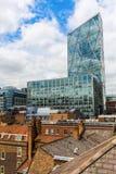 Broadgate torn i London, UK Arkivfoton