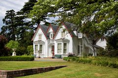 Broadgreen House and Park near Nelson Royalty Free Stock Photos