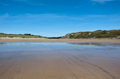 Broadhaven bay, Pembrokeshire Wales Royalty Free Stock Photo