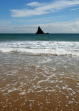 Broadhaven rock formation Stock Photography