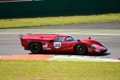 1968 Broadley Lola T70 MK3B at Monza Circuit Stock Photography