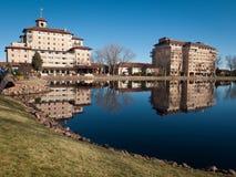 Broadmoor旅馆 免版税库存照片