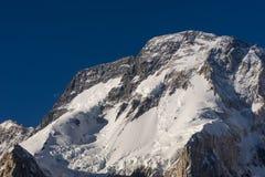 Broadpeak i Karakorum bergskedja, K2 trek, Gilgit, Pakistan arkivfoton