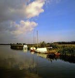 Broads de la Norfolk Images libres de droits