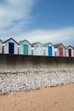 Broadsands Beach Huts. Beach Huts at Broadsands, near Paignton, Devon, UK Stock Images