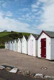 Broadsands Beach Huts. Beach Huts at Broadsands, near Paignton, Devon, UK Royalty Free Stock Photography