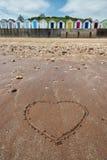 Broadsands plaży budy Obrazy Stock