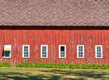 The Broadside of a Barn Royalty Free Stock Image