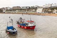 Broadstairs, barcos de pesca Imagem de Stock Royalty Free