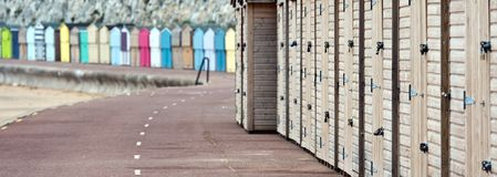Broadstairs Beach Huts Stock Image