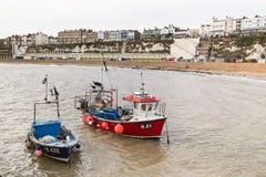 Broadstairs fiskebåtar Royaltyfri Bild