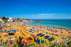 Broadstairs Kent  English coast summer day Stock Image